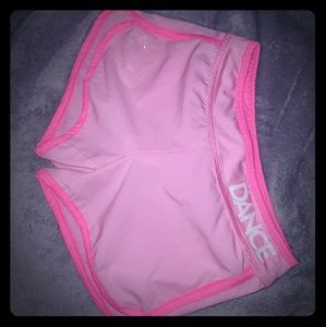 Pink Girls shorts from Justice.
